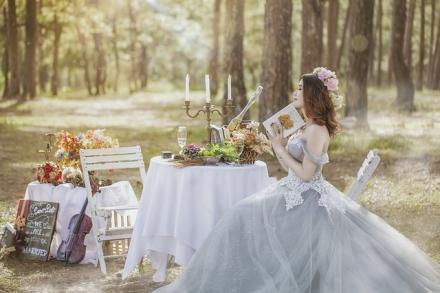 Tendances robes de mariée 2021 : le modèle princesse a la cote